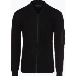 Drykorn - Kardigan męski – Fredo, czarny. Czarne swetry rozpinane męskie DRYKORN, l. Za 899,95 zł.