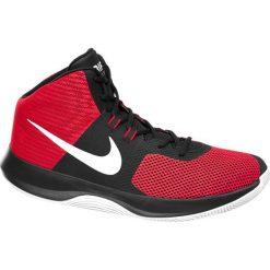Buty sportowe męskie: buty męskie Nike Air Precision Basketball NIKE czerwone