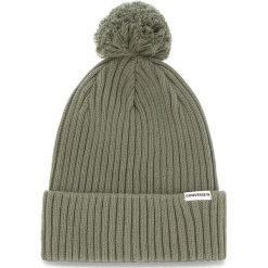Czapka CONVERSE - 609904 Field Surplus. Zielone czapki zimowe damskie Converse, z bawełny. Za 99,00 zł.