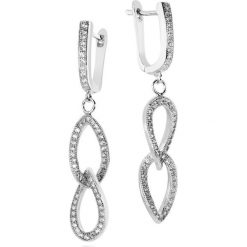 Kolczyki damskie: RABAT Srebrne Kolczyki – srebro 925, Cyrkonia