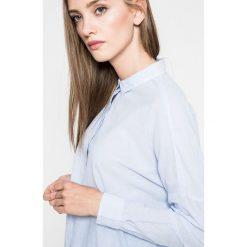 Wrangler - Koszula. Szare koszule damskie Wrangler, l, z bawełny, klasyczne, z klasycznym kołnierzykiem, z długim rękawem. W wyprzedaży za 129,90 zł.