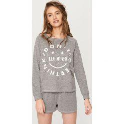Piżama z szortami - Szary. Czarne piżamy męskie marki Reserved, l. Za 59,99 zł.