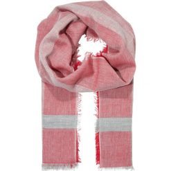 CLOSED SCARF Chusta pink glow. Czerwone chusty damskie CLOSED, z bawełny. Za 369,00 zł.