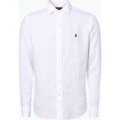 Koszule męskie na spinki: Polo Ralph Lauren - Męska koszula lniana, czarny