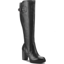 Kozaki TAMARIS - 1-25517-21 Black 001. Czarne buty zimowe damskie Tamaris, z materiału. Za 439,90 zł.