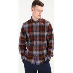 Koszule męskie na spinki: Dickies WARING Koszula dark brown