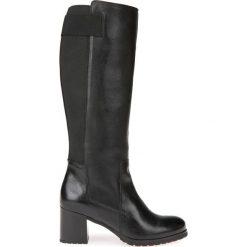 Kozaki New Lise. Szare buty zimowe damskie marki Geox, z gumy. Za 865,62 zł.