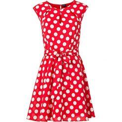 Sukienka w groszki bonprix czerwono-biały w groszki. Czerwone sukienki balowe marki bonprix, w grochy. Za 59,99 zł.