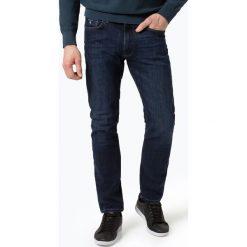 Gant - Jeansy męskie, niebieski. Szare jeansy męskie z dziurami marki GANT, z gumy. Za 449,95 zł.