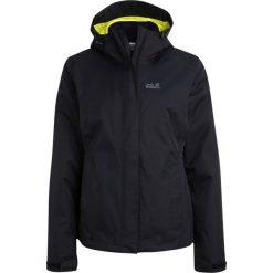 Jack Wolfskin CRUSH´N ICE 2IN1 Kurtka hardshell black. Czarne kurtki damskie turystyczne marki Jack Wolfskin, xl, z hardshellu. W wyprzedaży za 439,50 zł.