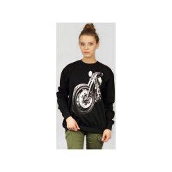 Bluza UNDERWORLD casual Motor. Czarne bluzy rozpinane damskie Underworld, m, z nadrukiem, z bawełny. Za 119,99 zł.