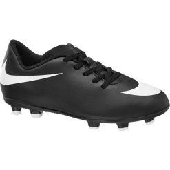 Buty piłkarskie Jr Nike Bravata II Fg NIKE czarne. Czarne buty skate męskie marki Nike, z materiału, nike tanjun. Za 83,00 zł.