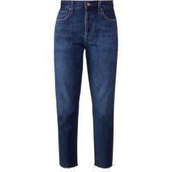 Agolde JAMIE Jeansy Straight Leg desolate. Niebieskie jeansy damskie Agolde. Za 959,00 zł.