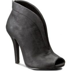 Szpilki JENNY FAIRY - W16SS267-3 Czarny. Czarne buty zimowe damskie marki Jenny Fairy, z materiału, na obcasie. Za 99,99 zł.