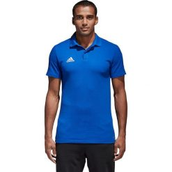 Koszulki polo: Adidas Koszulka męska Condivo 18 CO Polo niebieska r. M (CF4375)