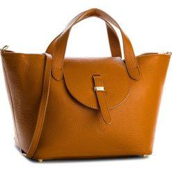 Torebka CREOLE - K10529  Koniak D17. Brązowe torebki klasyczne damskie Creole, ze skóry, duże. W wyprzedaży za 209,00 zł.