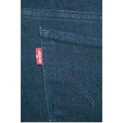 Levi's - Jeansy 712. Brązowe jeansy damskie rurki marki Levi's®. W wyprzedaży za 219,90 zł.