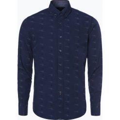 BOSS Casual - Koszula męska – Epreppy_1, niebieski. Niebieskie koszule męskie na spinki BOSS Casual, m, w kolorowe wzory. Za 399,95 zł.