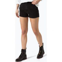 Bermudy damskie: Calvin Klein Jeans - Damskie krótkie spodenki jeansowe, czarny