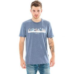 ELBRUS Koszulka męska BERGE navy melange r. L. Niebieskie t-shirty męskie ELBRUS, l. Za 34,04 zł.