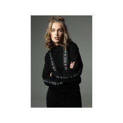 Bluza Go Sky High - czarna. Czarne bluzy z kieszeniami damskie Madnezz, m, z aplikacjami, z bawełny. Za 299,00 zł.