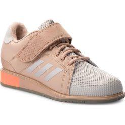 Buty adidas - Power Perfect III DA9882 Pink/Chalk Pearl/Chalk Pearl/Ash Pearl. Niebieskie buty do fitnessu damskie marki Salomon, z gore-texu, na sznurówki, gore-tex. W wyprzedaży za 419,00 zł.