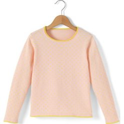 Swetry dziewczęce: Sweter w groszki 3-12 lat