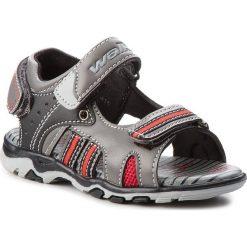 Sandały chłopięce: Sandały WALKY – CMHD1415 Szary