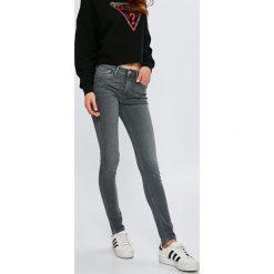 Pepe Jeans - Jeansy dziecięce Jena 116-176 cm. Szare jeansy dziewczęce Pepe Jeans, z bawełny. W wyprzedaży za 239,90 zł.