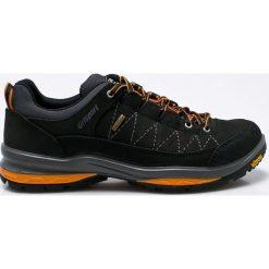 Grisport - Obuwie. Czarne buty trekkingowe męskie Grisport, na zimę, z materiału, na sznurówki, outdoorowe. W wyprzedaży za 299,90 zł.