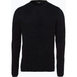 Solid - Sweter męski – Larimar, czarny. Czarne swetry klasyczne męskie Solid, m, z bawełny. Za 179,95 zł.
