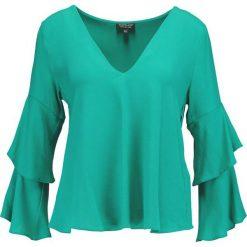 Bluzki asymetryczne: Topshop DOUBLE SLEEVE Bluzka green