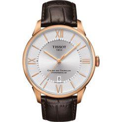 RABAT ZEGAREK TISSOT Chemin Des Tourelles Powermatic 80 T099.407.36. Szare zegarki męskie TISSOT, ze stali. W wyprzedaży za 3212,00 zł.
