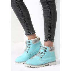 Błękitne Traperki White Chase. Niebieskie buty zimowe damskie vices. Za 79,99 zł.