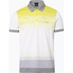 BOSS Athleisurewear - Męska koszulka polo – Paule 6, żółty. Żółte koszulki polo BOSS Athleisurewear, m, z bawełny. Za 479,95 zł.