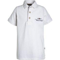 Napapijri ELBAS Koszulka polo bright white. Szare bluzki dziewczęce bawełniane marki Napapijri, l, z kapturem. Za 149,00 zł.