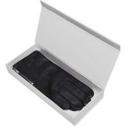 RĘKAWICZKI MĘSKIE Z NATURALNEJ SKÓRY I OZDOBNYM ZAMKIEM. Szare rękawiczki męskie Top Secret, na jesień, ze skóry. Za 99,99 zł.