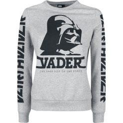 Star Wars Darth Vader Bluza damska odcienie szarego. Szare bluzy z nadrukiem damskie marki Star Wars, s. Za 144,90 zł.
