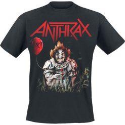 T-shirty męskie z nadrukiem: Anthrax Smiling Not Clown T-Shirt czarny