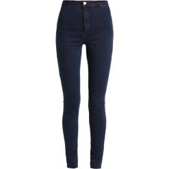 Missguided Tall VICE HIGH WAISTED Jeans Skinny Fit indigo vintage. Niebieskie jeansy damskie Missguided Tall. Za 129,00 zł.