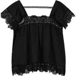 Bluzki asymetryczne: Navy London CELIA Bluzka black