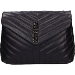 Torba - 28-003G-O S V. Czarne torebki klasyczne damskie Venezia, ze skóry. Za 359,00 zł.