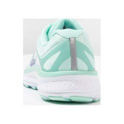 Saucony GUIDE ISO Obuwie do biegania Stabilność white/aqua. Białe buty do biegania damskie Saucony, z gumy. Za 589,00 zł.
