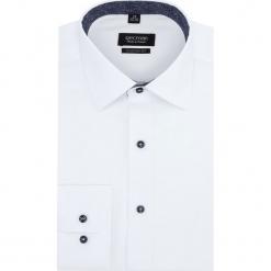 Koszula bexley 2859 długi rękaw custom fit biały. Szare koszule męskie marki Recman, na lato, l, w kratkę, button down, z krótkim rękawem. Za 149,00 zł.