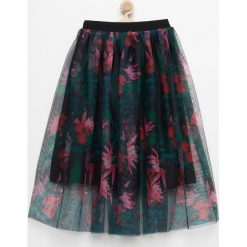 Spódniczki dziewczęce z falbankami: Tiulowa spódnica midi – Czarny