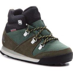 Buty adidas - Cw Snowpitch K AC7963 Basgrn/Ngtcar/Ashsil. Czarne buty trekkingowe damskie marki Adidas, z kauczuku. W wyprzedaży za 209,00 zł.