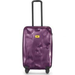 Walizka Bright średnia Purple. Szare walizki marki Crash Baggage, z materiału. Za 996,00 zł.