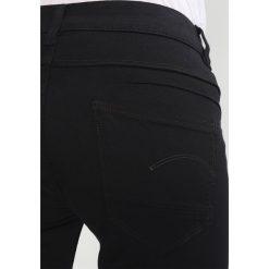 GStar DSTAQ 5PKT MID SKINNY  Jeans Skinny Fit ita black. Czarne rurki damskie G-Star. Za 469,00 zł.