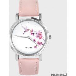 Zegarki damskie: Zegarek – Koliber, oznaczenia – pudrowy róż