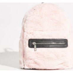 Pluszowy plecak - Różowy. Czerwone plecaki damskie Sinsay. Za 69,99 zł.